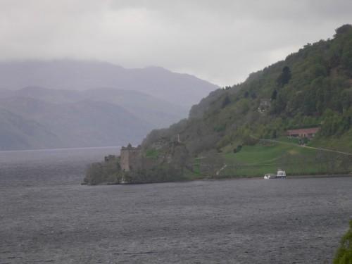 Urquhart Castle, von uns rechts liegengelassen!