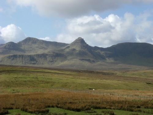 Unser Ziel: die Trotternish Ridge