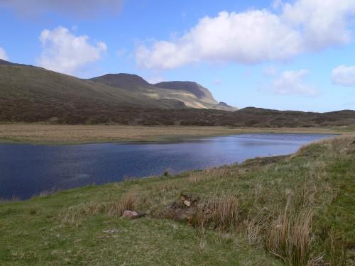 Am Ziel: Loch Cuithir
