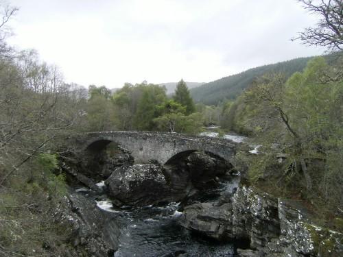 Telford-Brücke in Invermoriston