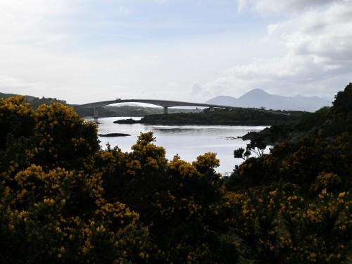 Die Skye-Brücke bei Kyle of Lochalsh