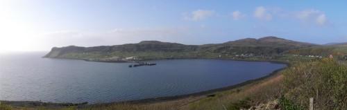 Die Bucht von Uig (Panoramabild 3.2MB)