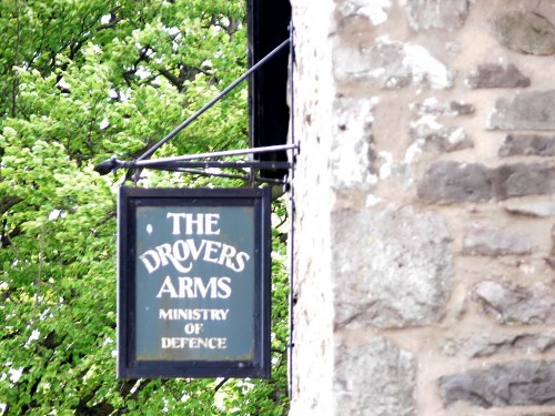Ein Pub auf Mynydd Eppynt