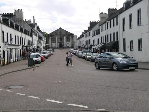 Die Mainstreet von Inveraray