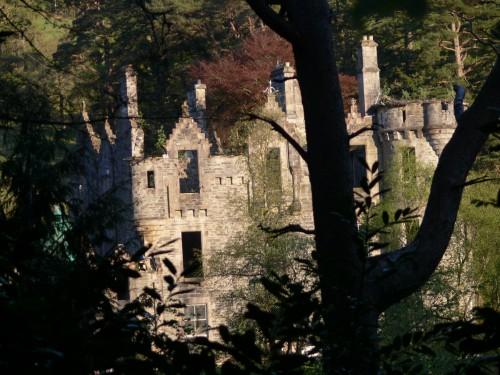 Ruine des Estate, zu dem auch unser B&B, die Watermill, gehört