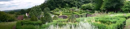 Teil-Panorama des Gartens (6,7GB)