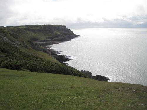 Aussicht vom Küstenwanderweg