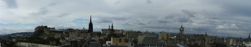 Panorama von Edinburgh