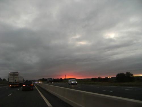 In England geht die Sonne auf