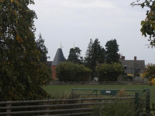 Hopfendarren im County Hereford