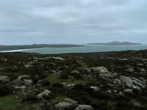 Whitesands Bay and Ramsey Island