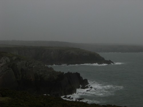 Coast near Porth Clais