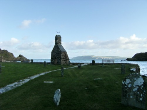 The remains of Saint Brynach
